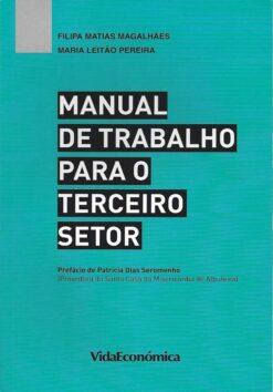 capa do livro manual de trabalho para o terceiro setor