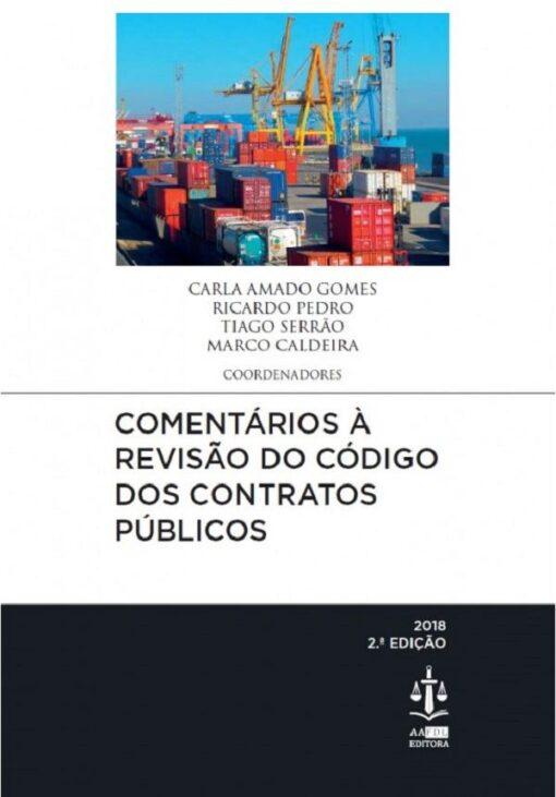 capa do livro Comentários à Revisão do Código dos Contratos Públicos