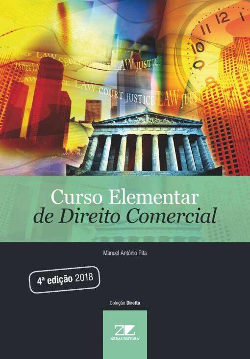 Capa do livro Curso Elementar de Direito Comercial