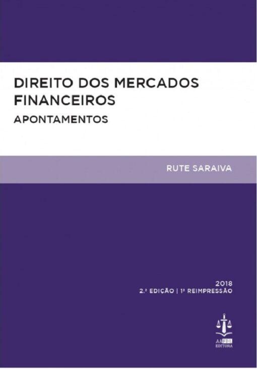 capa do livro Direito dos Mercados Financeiros