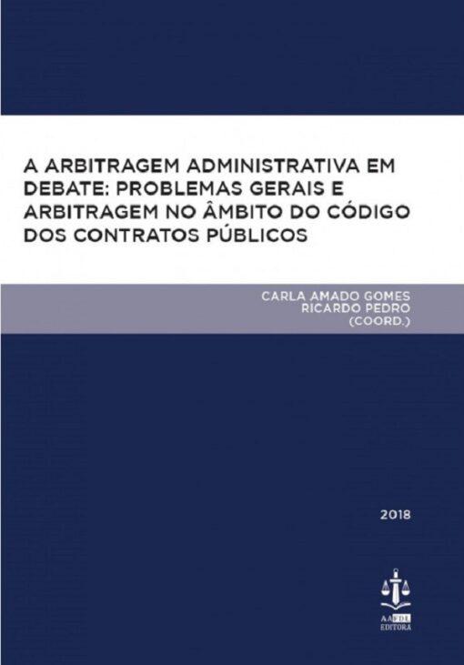 capa do livro A Arbitragem Administrativa em Debate