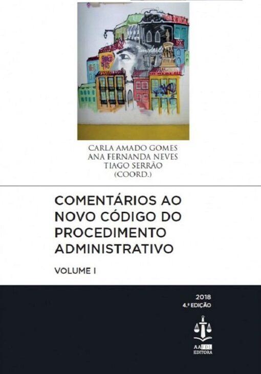 capa do livro Comentários ao Novo Código do Procedimento Administrativo