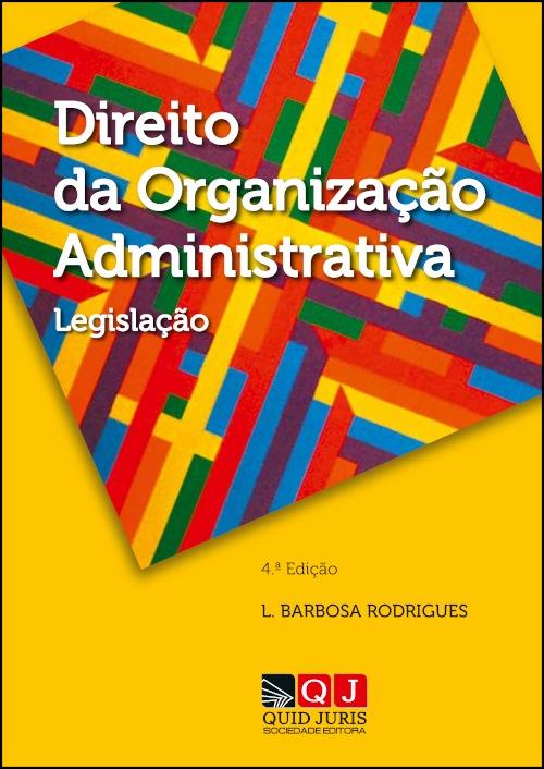 Capa do livro Direito da Organização Administrativa