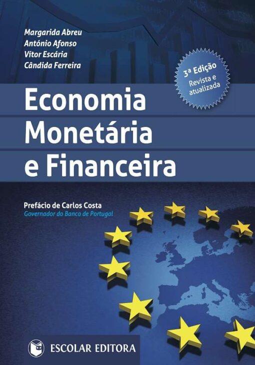 capa do livro Economia Monetária e Financeira