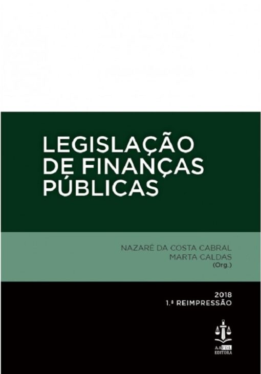 capa do livro Legislação de Finanças Públicas