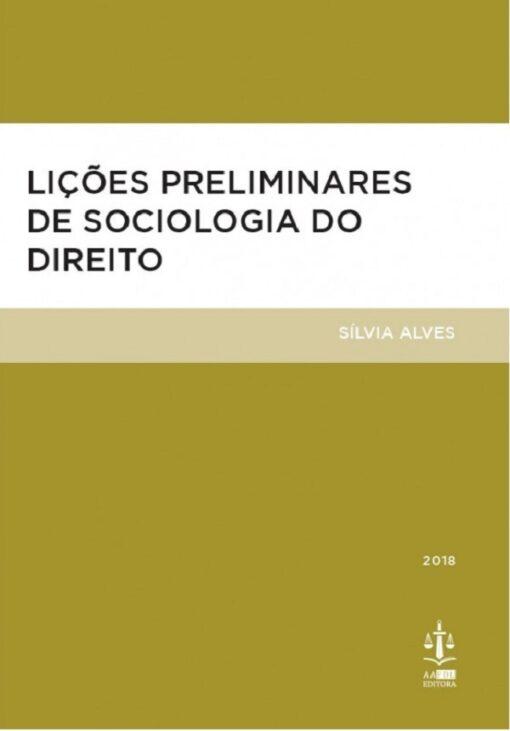capa do livro Lições Preliminares de Sociologia do Direito