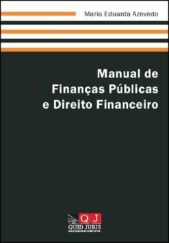 capa do livro Manual de Finanças Públicas e Direito Financeiro
