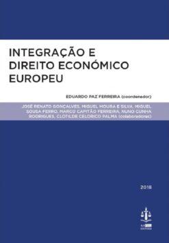 capa do livro Integração e Direito Económico Europeu