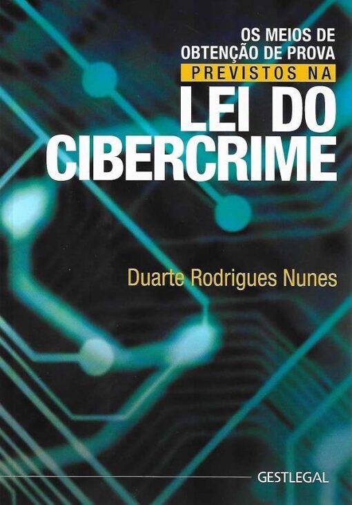 capa do livro Lei do Cibercrime