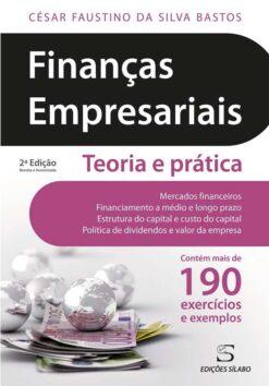 capa do livro financas empreariais teoria e pratica