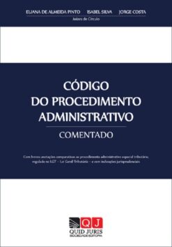 capa do livro Código do Procedimento Administrativo Comentado