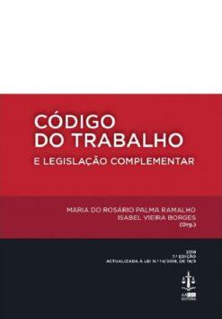 capa do livro Código do Trabalho e Legislação Complementar