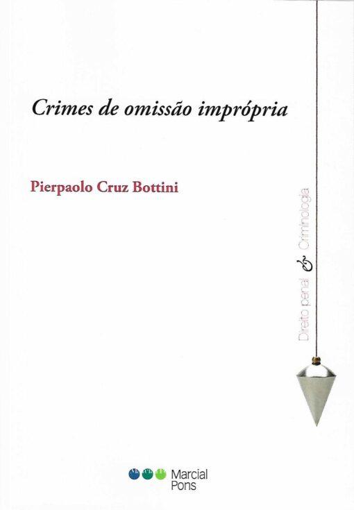 capa do livro Crimes de omisão imprópria
