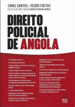 capa do livro Direito Policial de Angola