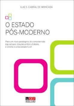 capa do livro O Estado Pós-Moderno