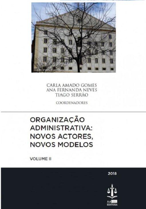 capa da Organização Administrativa Vol II