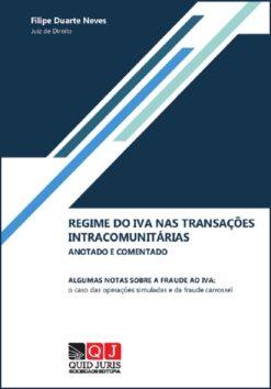 capa do livro Regime do IVA nas Transações Intracomunitárias