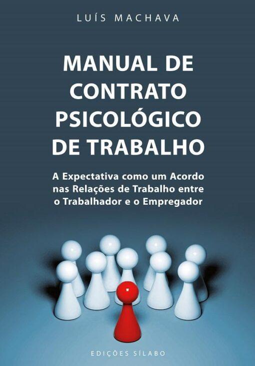 comprar o livro manual de contrato psicologico de trabalho