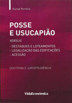 capa do livro posse e usucapiao