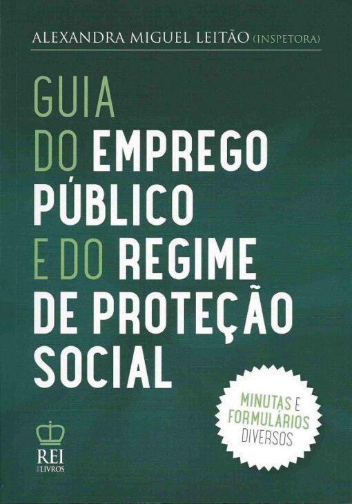 Capa Guia do Emprego Público e do Regime de Proteção Social