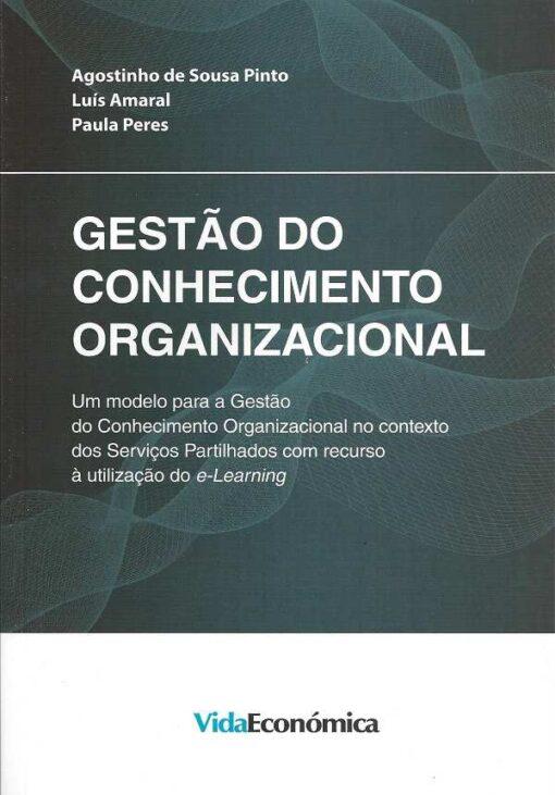 Capa do Livro Gestão do Conhecimento Organizacional