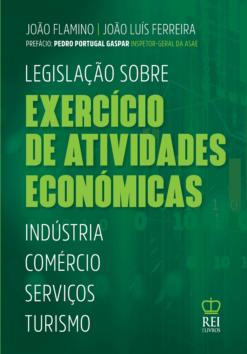 Capa Legislação Sobre Exercício de Atividades Económicas