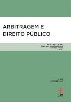 Capa do livro Arbitragem e Direito Público