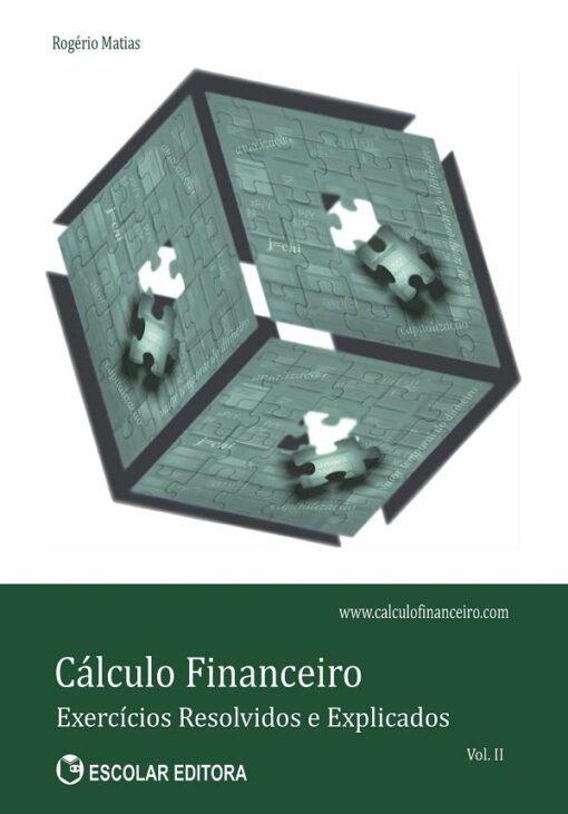 Capa do Livro Cálculo Financeiro vol II