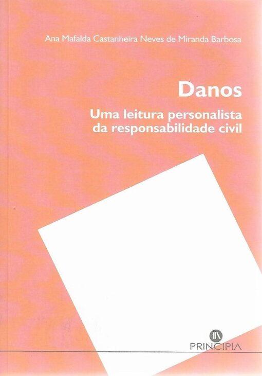 capa do livro Danos Uma leitura personalista da responsabilidade civil