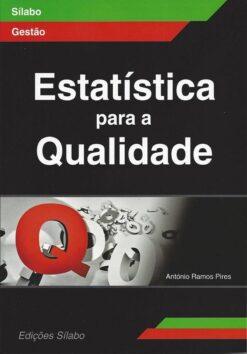 Capa do Livro Estatística para a Qualidade