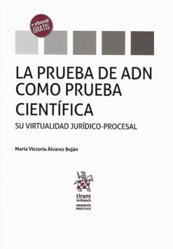 capa do livro La prueba de ADN como prueba científica