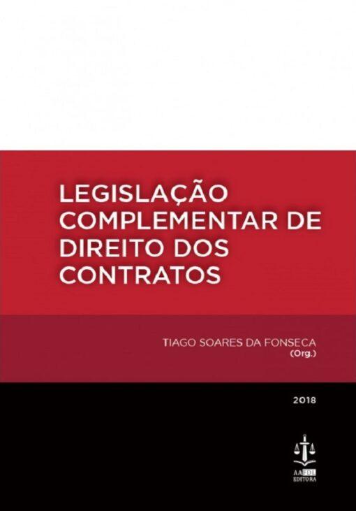 Capa do livro legislação complementar de direito dos contratos