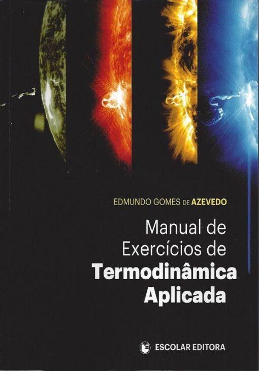 Capa do livro Manual de Exercícios de Termodinâmica Aplicada