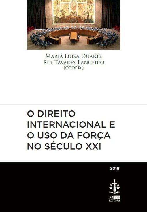 capa do livro o direito internacional e o uso da força no seculo XXI
