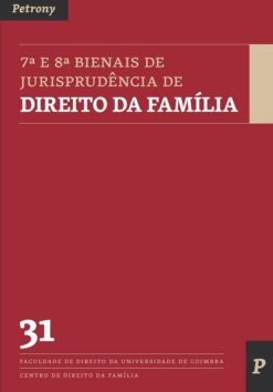 Capa do livro 7ª e 8ª Bienais de Jurisprudência de Direito da Família