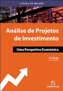 Capa do livro Análise de projetos de investimento