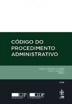 Capa do livro Código do Procedimento Administrativo