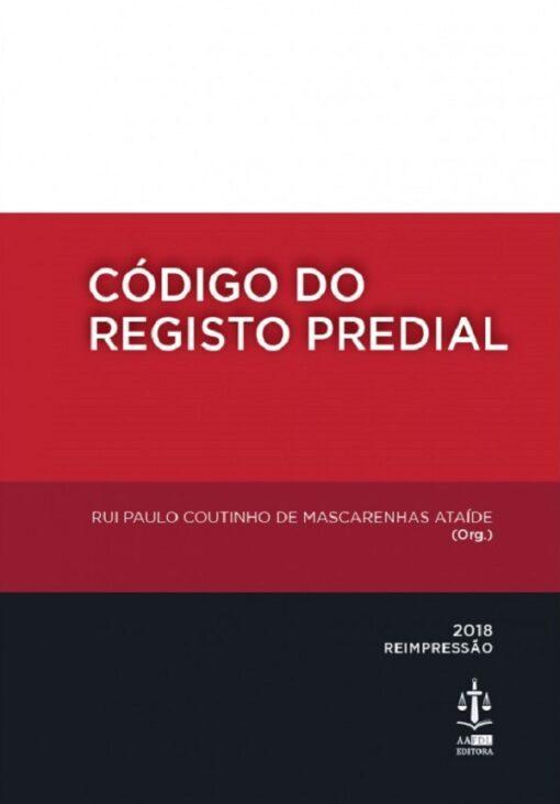 Capa do Livro Código do Registo Predial