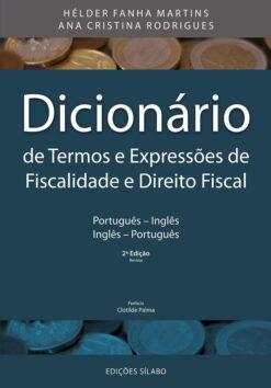 capa do livro Dicionário de Termos e Expressões de Fiscalidade e Direito Fiscal