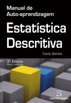 Capa do Livro Estatística Descritiva Manual de Auto-Aprendizagem