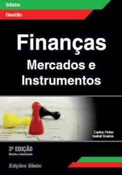 Capa do livro Finanças Marcados e instrumentos