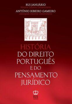 Capa do Livro História do Direito português e do Pensamento jurídico