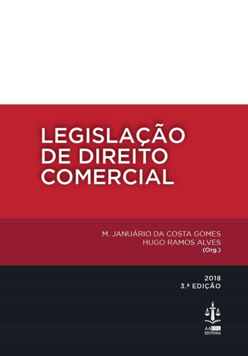capa do livro Legislação de Direito Comercial