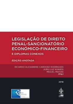 capa do livro Legislação de direito penal-sancionatório económico-financeiro e diplomas conexos