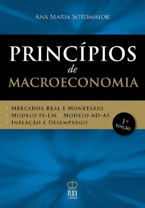 capa do livro Princípios de macroeconomia