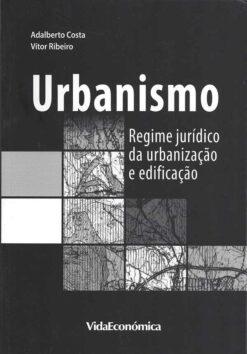 Capa do Livro Regime Jurídico da Urbanização e Edificação