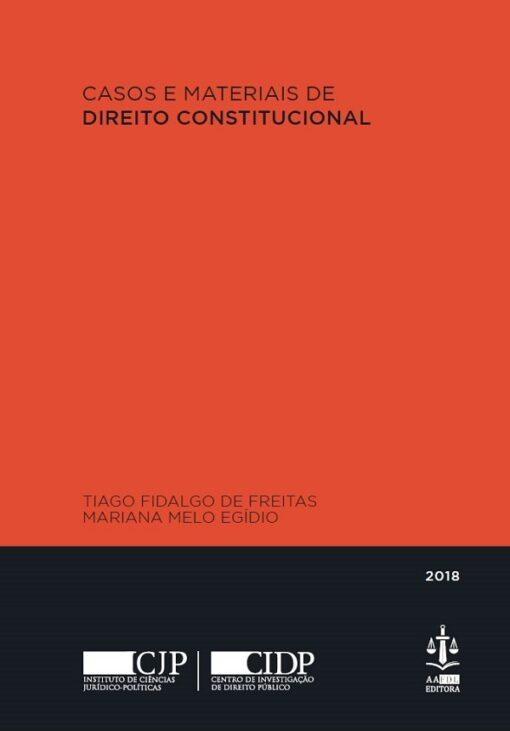 capa do livro casos e materiais de direito constitucional