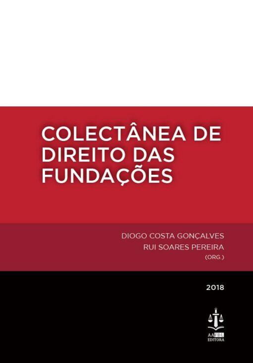 capa do livro coletânea de direito das fundações