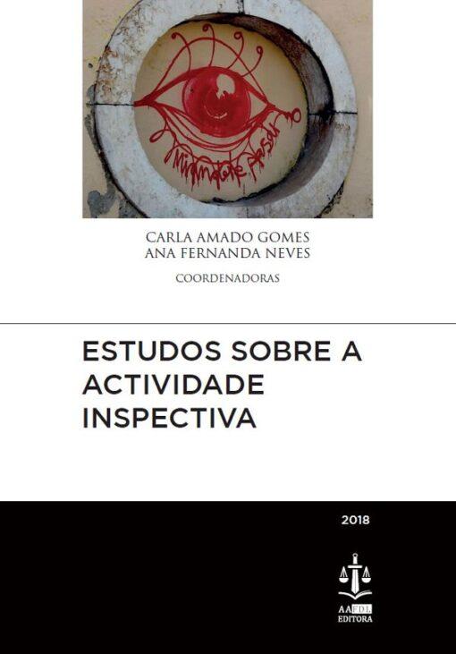 capa do livro estudos sobre a actividade inspectiva