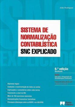 capa do livro snc sistema de normalização contabilistica